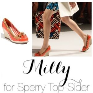 Milly for Sperry Topsider wedge sz 7